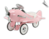 Fantasy Flyer Pink Pedal Plane by Airflow