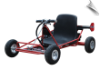 MotoTec Solar Electric Go Kart 24v Red
