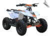 MotoTec 24v Mini Quad v3 White