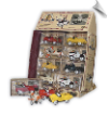 1:10 Pedal Power Miniatures (16 pcs in display)