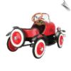 Model A Roadster Pedal Car - Red