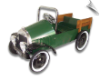 Jalopy Pedal Pickup Truck - Green