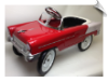 1955 Classic Pedal Car - Red and White