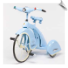 Blue 1936 Sky King Tricycle by Airflow - OUT OF STOCK UNTIL AUG 2016