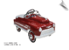 Deep Burgundy Comet Pedal Car - OUT OF STOCK UNTIL MAY 31 2016