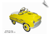 Yellow Taxi Comet Pedal Car - OUT OF STOCK UNTIL MAY 31 2016
