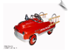 Fire Engine Comet Pedal Car - OUT OF STOCK