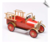 Antique Fire Engine Pedal Car by Airflow - OUT OF STOCK UNTIL OCT 2016