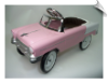 1955 Classic Pedal Car - Pink - OUT OF STOCK