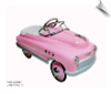 Pink Comet Pedal Car - OUT OF STOCK