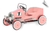 Pink Classic Pedal Car