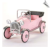 Pretty Pink Princess Pedal Car by Airflow - OUT OF STOCK UNTIL JUNE 2016