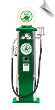 Green Dino Sinclair Old-Time Gas Pump - OUT OF STOCK