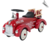 Metal Scoot-Along Fire Truck (Speedster Fire Truck)