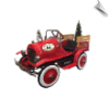 Christmas Tree Delivery Truck Pedal Car - OUT OF STOCK