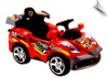Mini Motos Star Car 6v Red (Remote Controlled)