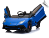Mini Moto Lamborghini 12v Blue (2.4ghz RC)