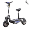 MotoTec Chaos 2000w 60v Lithium Electric Scooter Black (SKU: BIG-MT-ChaosBlack)
