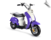 MotoTec 24v Electric Moped Purple