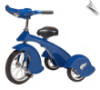 Retro Blue Jay Steel Tricycle