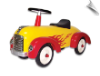 Flamed Scoot-Along Roadster (Speedster Hot Dog)
