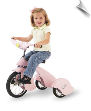 Pink Pegasus Retro Tricycle