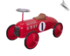 Red Scoot-Along Race Car (Speedster Racer) - OUT OF STOCK