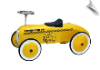 Yellow Taxi Foot to Floor Retro Racer